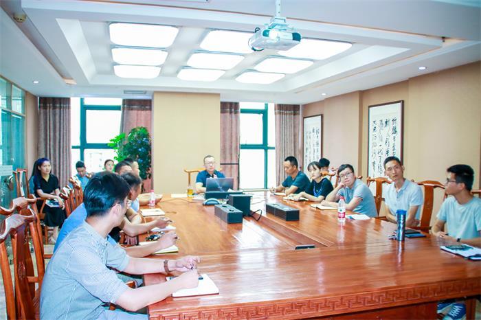 公司组织开展2021年第二期新员工入职培训